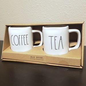 Rae Dunn Dining - Rae Dunn COFFEE & TEA Mug Set